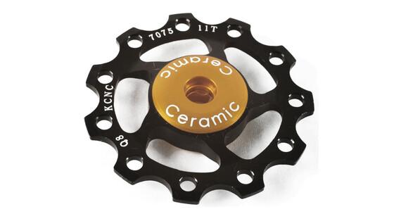 KCNC Jockey Wheel 11 Zähne Ceramic Bearing schwarz
